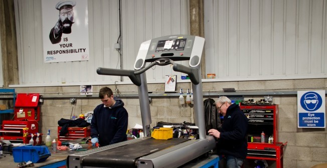 Gym Treadmill Repairs in Abberton