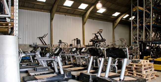 Remodeled Running Machines in Airlie